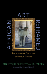 African Art Reframed Front Cover